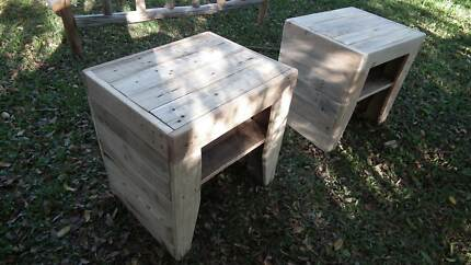 Beautiful handmade bedside tables Corinda Brisbane South West Preview