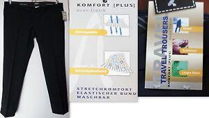 Breve-formato-Uomo-Pantalone-in-stoffa-marinaio-con-Lana-vergine-Atmungsak