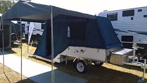 Rear Fold EMU Chick Light Weight - Ideal Small SUV or Cars Coombabah Gold Coast North Preview