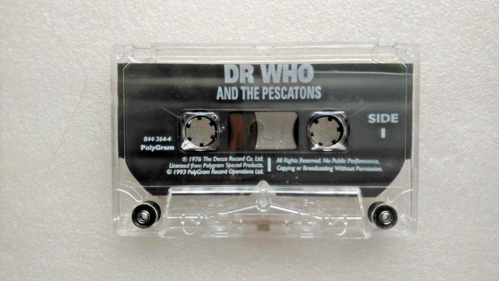 Doctor Who The Pescatons  (Audio Soundtrack 1993) - Tom Baker