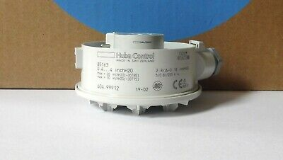 Huba Control Adjustable Air Pressure Switch Model 604.99912 Sit