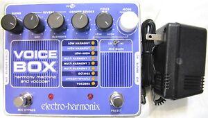 Used Electro-Harmonix EHX Voice Box Vocal Harmony Machine/Vocoder Effects Pedal!
