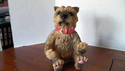 Mini Resin Dog Figurine Statue