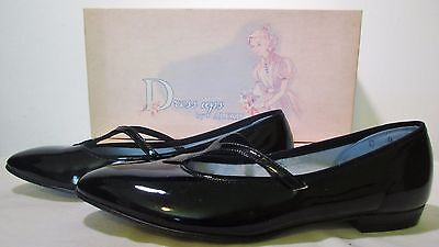 Antique Vintage Junior Youth Girl's Shoes Dress-Ups By Alexis Size 4 C Box