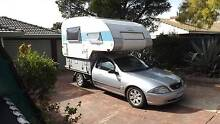ford/fleetwood-cab chassis motorhome solar powered -bed over cab Hillarys Joondalup Area Preview