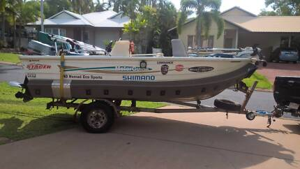 Stacer Nomad 440 with Motor guide and Boat Collar
