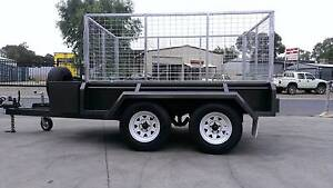 10X5 FULL BODY CAGED TRAILER Adelaide CBD Adelaide City Preview