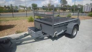 7x5 Trailer Hydraulic Tilt Height adjustment for easy loading!! Yatala Gold Coast North Preview