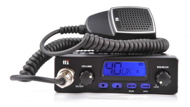 tti TCB-550 MOBILE CB RADIO - AM/FM Multistandard compact UK EU TCB550 car truck