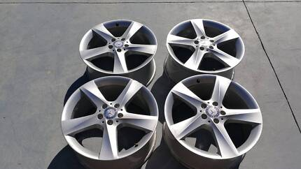 4 x 19 inch Genuine Mercedes ML 320 350 500 GL 500 ML 250 wheels