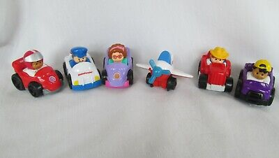 Fisher Price Little People WHEELIES Race Cars with People Set 6