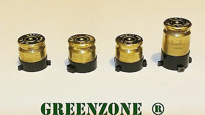 Replacement 9mm Brass ABXY Bullet Buttons for Xbox One Controller