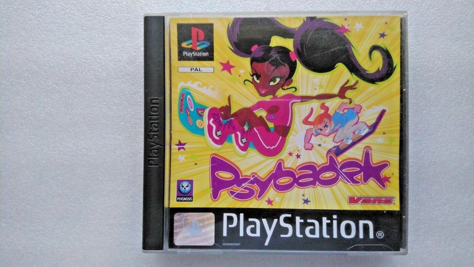 Psybadek (Sony PlayStation 1, 1998)