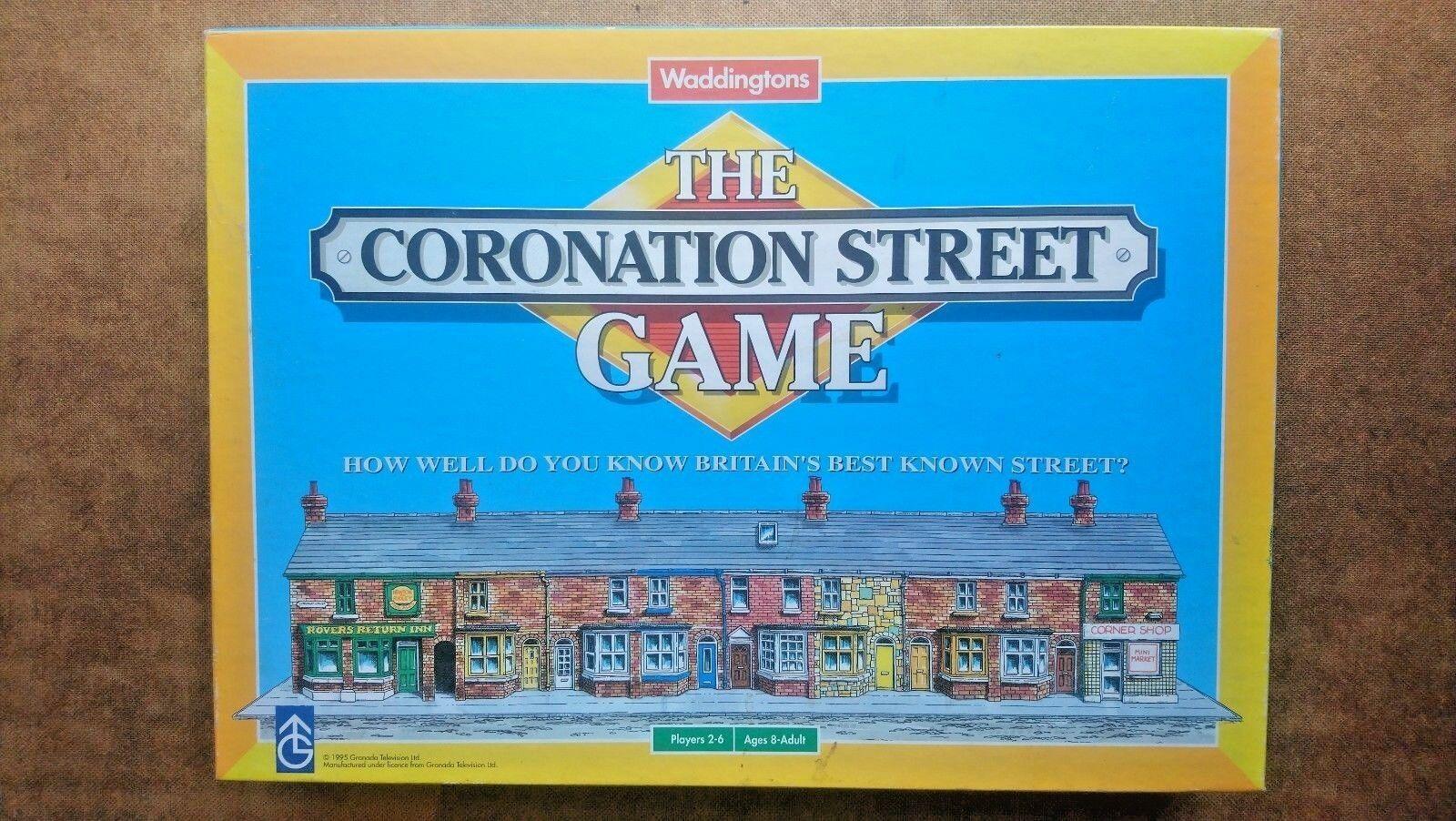 Coronation Street  Game By Waddingtons 1995