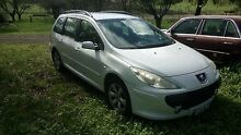 Peugeot 307 Wagon 1.6 turbo diesel manual 2005, new tyres Lobethal Adelaide Hills Preview