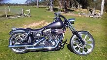 Harley Davidson Custom Wide Glide Dungog Dungog Area Preview