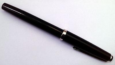 Fountain Pen - Iridium point - Vintage luxury - Black - German-made fountain pen