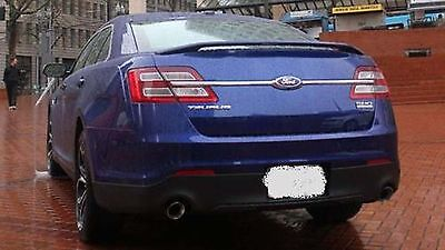 PAINTED TO MATCH ANY COLOR FORD TAURUS SHO FACTORY STYLE SPOILER 2013-2018 - Factory Color Match