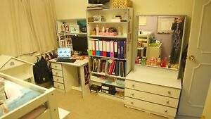Child's Study & Bedroom Dresser Suite Drummoyne Canada Bay Area Preview