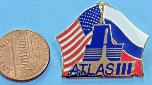 NASA PIN vtg ATLAS III ROCKET Unmanned SPACE Flight Lockheed Martin US Russia