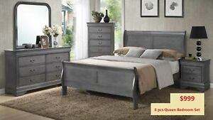 8 PCS BEDROOM SET ONLY 999