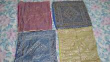 4 Indian Embroidery Cushion Covers - FREE Oatley Hurstville Area Preview