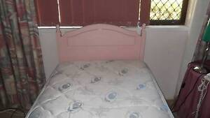 single bed ensemble  , pink bedhead & Sunbeam electric blanket Ashmore Gold Coast City Preview