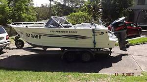 Quintrex 570 Freedom Sport Frenchs Forest Warringah Area Preview
