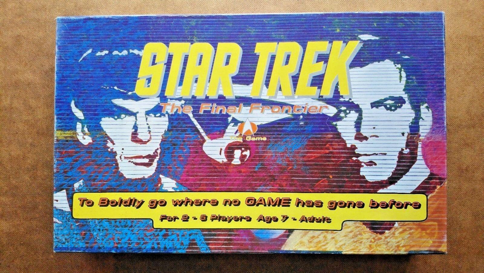 Star Trek The Final Frontier   (1992)