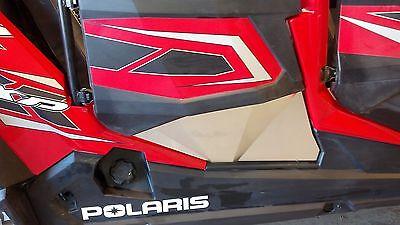 Polaris RZR XP4 1000 Lower Door Panels & Rear Triangles, Bare, Set of 6 Panels