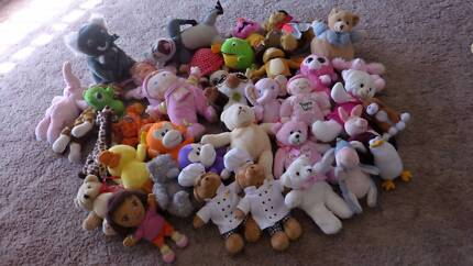 Many soft toys - great condition - starting from 20 cents
