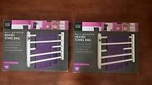 Heated Towel Rails x 2 - Stainless Steel - Brand New - In Boxes Flinders View Ipswich City Preview