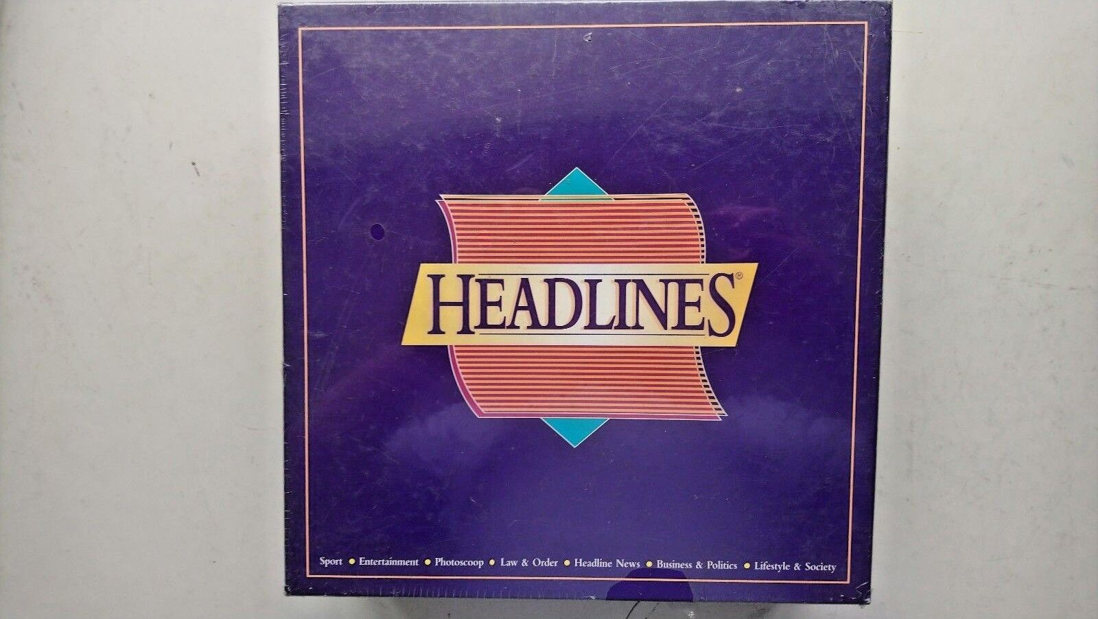Headlines Game  by Databrowse (1996)  NEW and SEALED