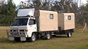 Isuzu NKR Truck and Trailer Motorhome  Unit,RW,Gas,Ready to go. Flaxton Maroochydore Area Preview
