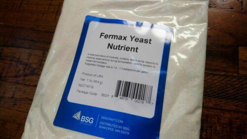 New FRESH FERMAX BLUE LABEL 1 LB Pound BSG YEAST NUTRIENT ENERGIZER ~ BEER WINE