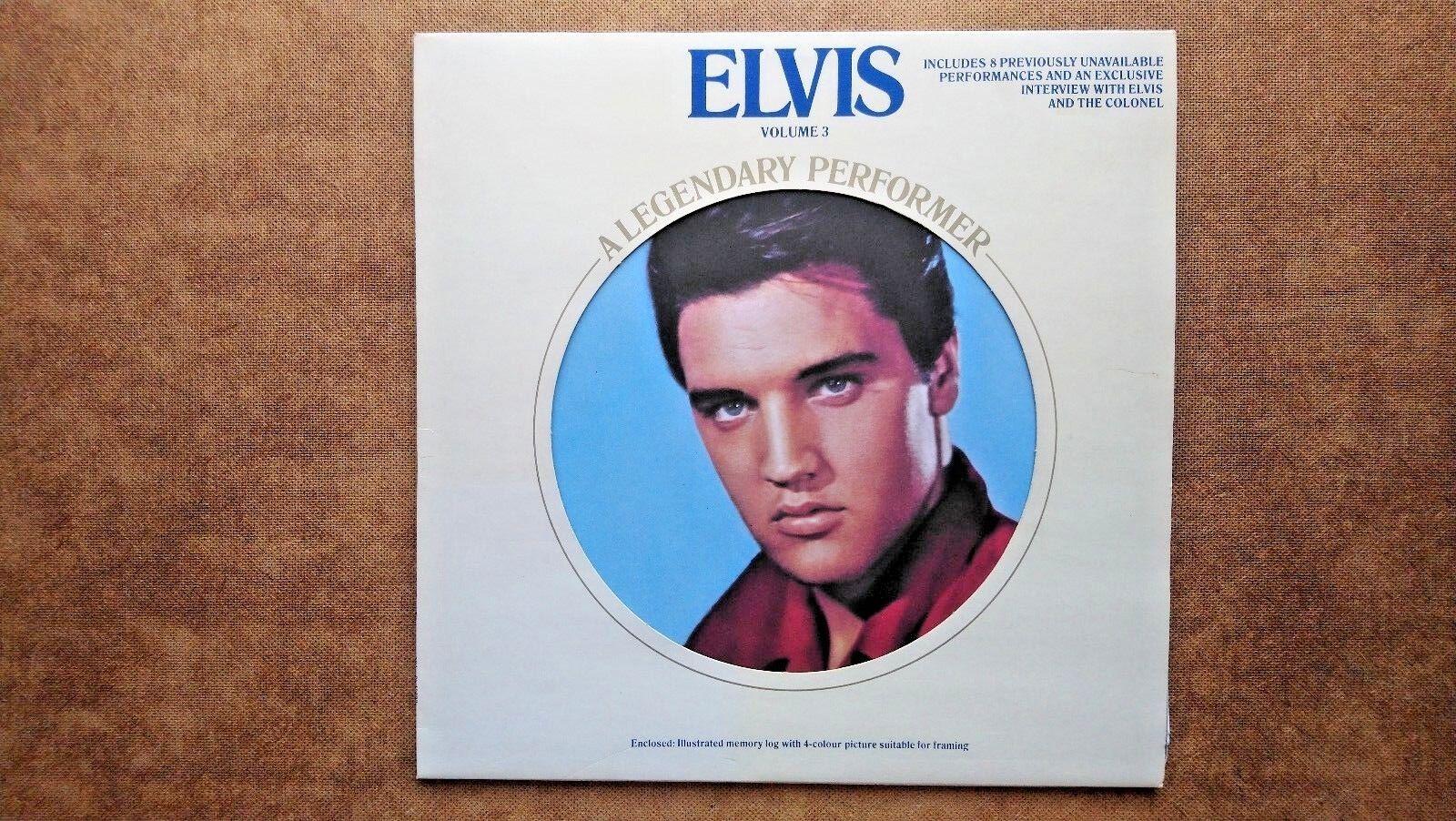 Elvis The legendary Performer - Volume 3 (1978 Edition) LP Vinyl Record