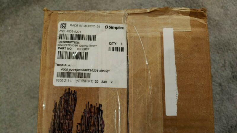 Simplex 4009-9201 NAC EXTENDER - NEW Open Box. Never Installed!