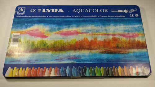 Lyra Aquacolor 48 Crayons  Assorted Colors