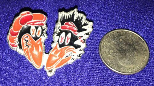 vintage Black Crowes ENAMEL PROMO PIN/PINBACK/BUTTON smoking birds RARE!