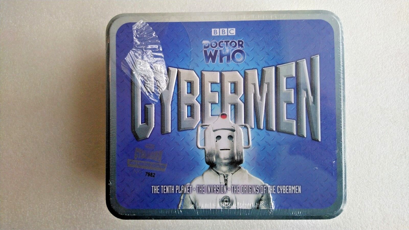 Doctor Who The Cybermen Limited  CD Tin Set (7982)  NEW AND SEALED