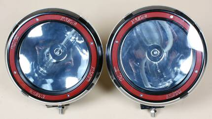"""PAIR 7"""" HID Spot light 55W 4WD 4x4 ATV Off Road NEW Malaga Swan Area Preview"""