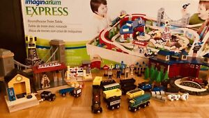 Imaginarium Express Roundhouse Train Table & extra toys