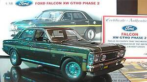"1:18 FORD XW FALCON GT - ""REEF GREEN"" - AUTOart MINT Taree Greater Taree Area Preview"