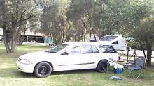 2001 Ford Falcon Wagon, perfect for camping with built-in bed The Rocks Inner Sydney Preview
