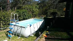 POOL, Bestway above ground, approx '4.1mts x 2.0mts x 1.2deep. Yarramundi Hawkesbury Area Preview
