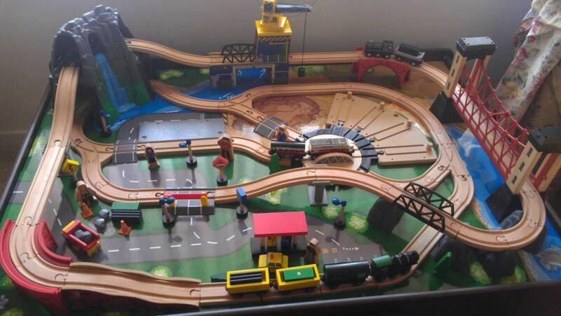 Imaginarium Mountain Rock Train Table | Toys - Indoor | Gumtree ...