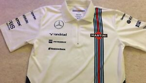Williams Mercedes F1 Polo Shirt (used)