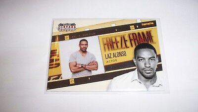 2015 PANINI AMERICANA LAZ ALONSO FREEZE FRAME CARD #7
