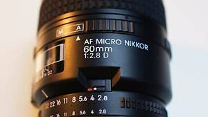 Nikon AF Nikkor 60mm f/2.8 D Micro Lens Waratah West Newcastle Area Preview