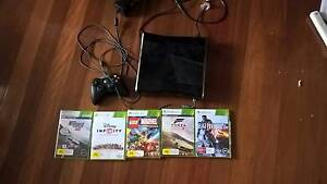 Xbox 360 with 5 games Geebung Brisbane North East Preview